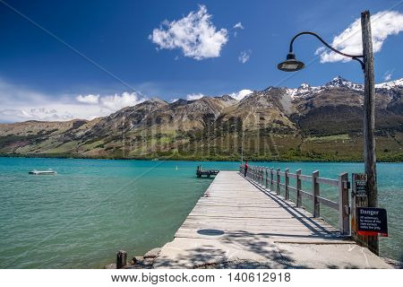 Lake Wakatipu At Glenorchy