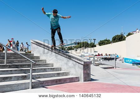 Daniel Ferreira During The Dc Skate Challenge