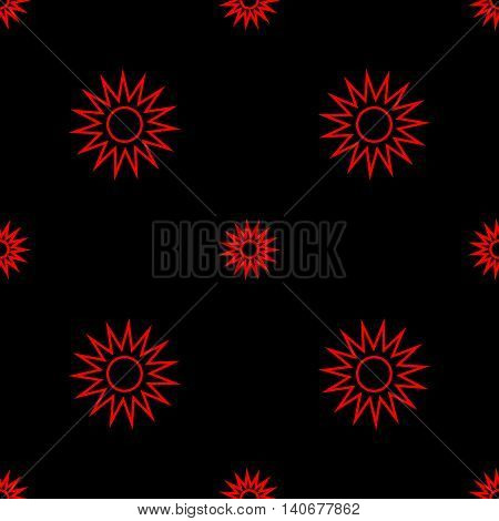 Stars geometric seamless pattern. Fashion graphic background design. Modern stylish abstract texture. Color template for prints textiles wrapping wallpaper website etc Stock VECTOR illustration
