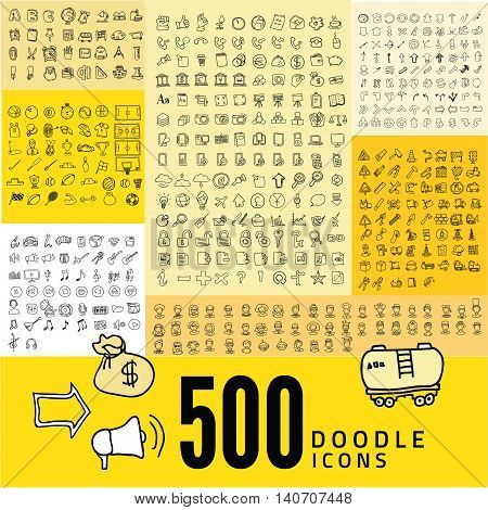 Set of 500 Quality icon, Media icons , Money icons, Mobile icons, Web icons , holiday icon, Avatar icons, Arrows icons, Tools icon