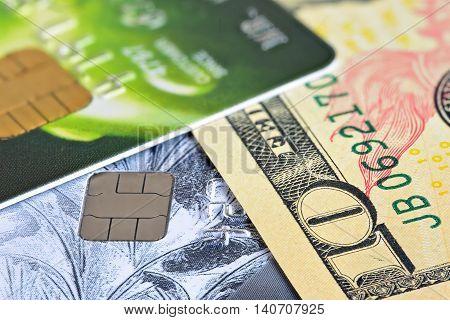 Credit Card Closeup