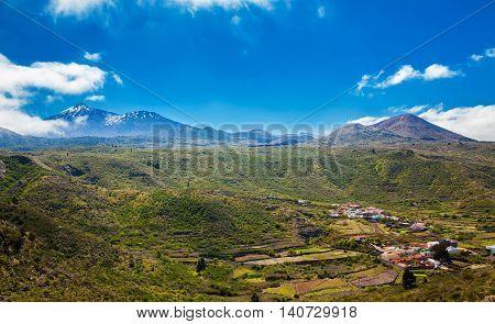 Aerial View Of Valle De Arriba