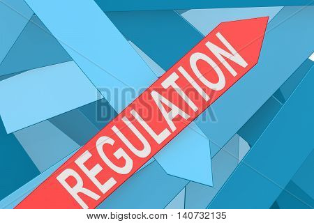 Regulation Arrow Pointing Upward