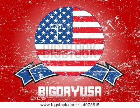 usa background - vector illustration