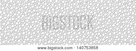 seamless abstract circular white background vector relief