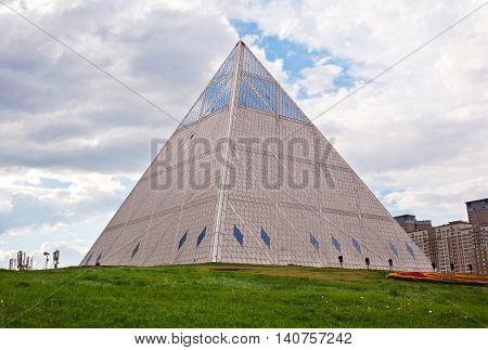 Palace of Peace and Accord - Pyramid (Astana, Kazakhstan)