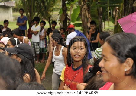Cebu - Philippines - January,1 2013 - Annual Orphan Children Party