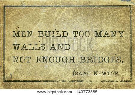 Men Build Newton