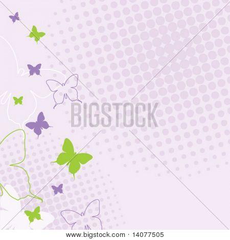 Spring background - vector