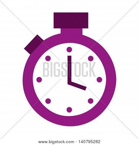 timer counter chronometer icon vector illustration design poster