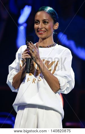 NEW  YORK-NOV 13: Nicole Richie on stage during VH1's 2nd Annual 'You Oughta Know Live In Concert' 2014 at Hammerstein Ballroom on November 13, 2014 in New York City.