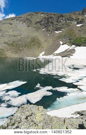 Aerial View Of Closeup Of Glacier, Giresun - Turkey