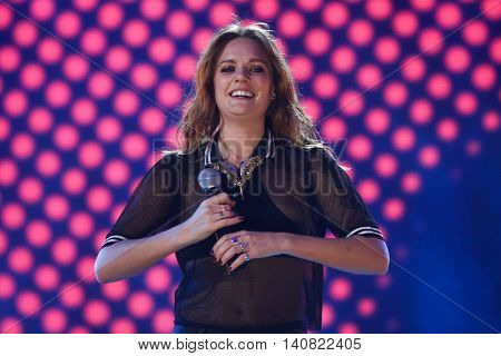 NEW  YORK-NOV 13: Tove Lo performs on stage during VH1's 2nd Annual 'You Oughta Know Live In Concert' 2014 at Hammerstein Ballroom on November 13, 2014 in New York City.