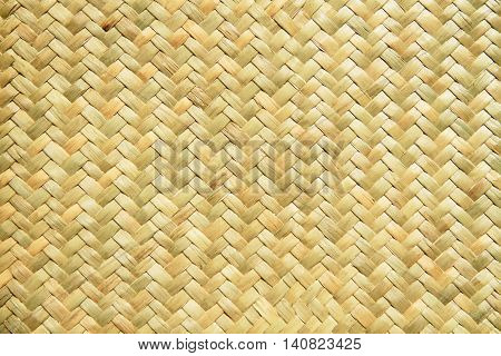 Close up of a basket weave background