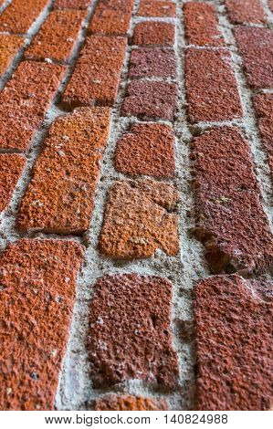 Red Brick Flooring