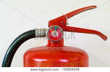 old fire extinguisher,old, red, object, dusty, safety