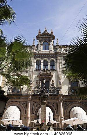 Seville in Spain is home for a collection of gorgeous buildings flanking the streets with architectural gems