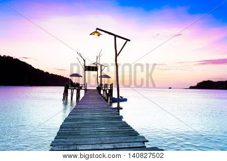 Jetty to Eternity Path to the Night