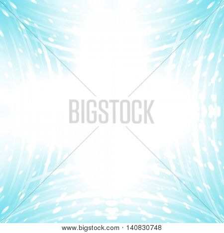abstract lights, blue background for your design