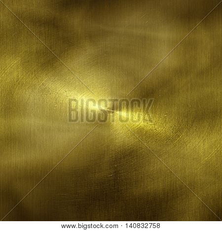 shiny gold wall. gold background and texture.