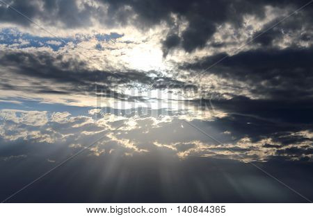 The God Of Light In The Sky