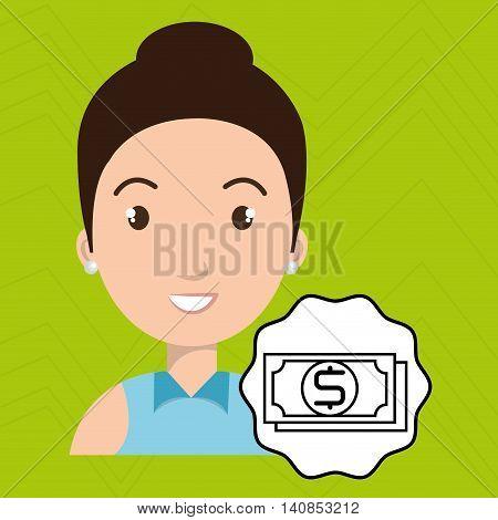 woman adul camera vector illustration esp 10