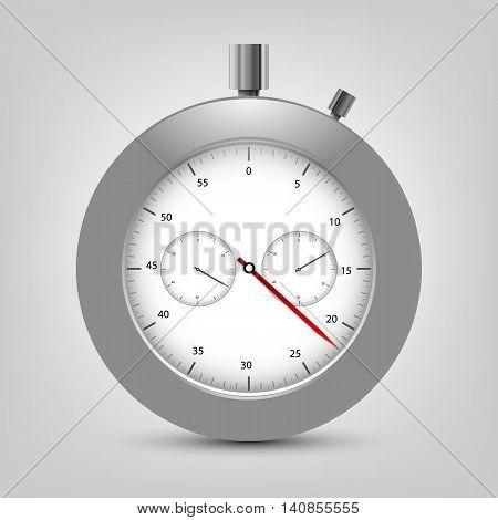 Vector stopwatch. Classic stopwatch vector EPS 10. Elements for your design
