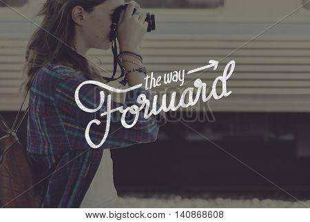 The Way Forward Aspirations Goals Target Development Concept