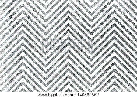 Silver Stripes Background, Chevron.
