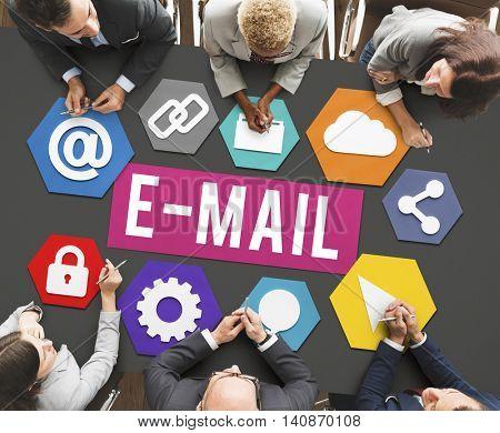E-mail Correspondence Communication Digital Online Concept