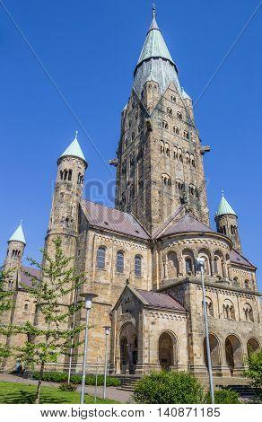 St. Antonius Basilica In Historical City Rheine