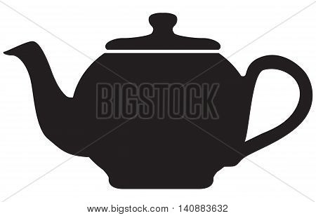 Tea Pot Icon tea crop hot drink teapot illustration