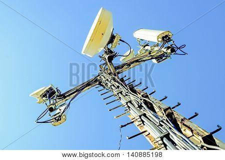 Base station antennas of cellular communication . poster