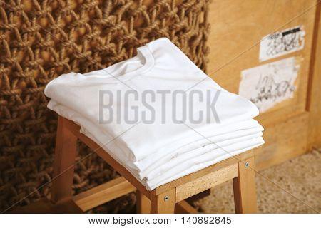 Blank T-shirts Presentation