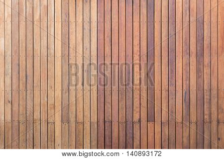 Exterior Wooden Decking Or Flooring On The Terrace