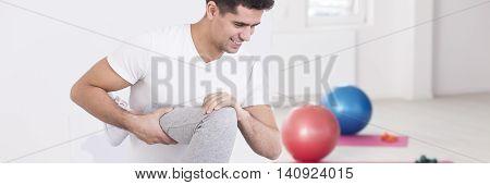 Professional Rehabilitation Following A Knee Injury