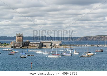 picture showing Camaret-sur-Mer a commune in the Finist