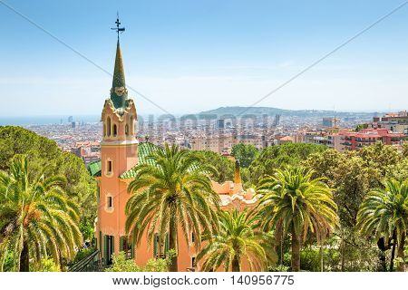 Museum Of Antoni Gaudi In Park Guell