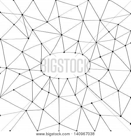 Vector doodle abstract net textured graphic line background