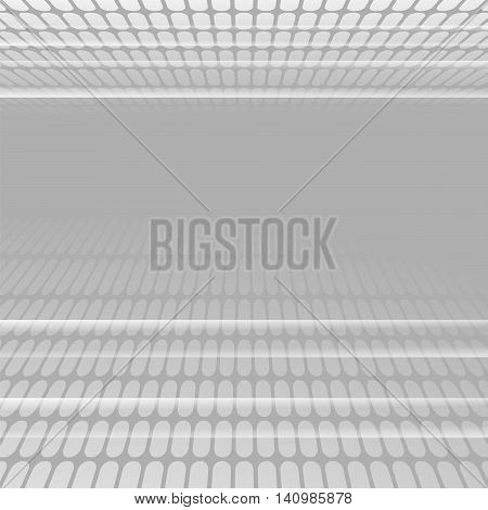 Abstract Grey Technology Background. Pixel Creative Pattern