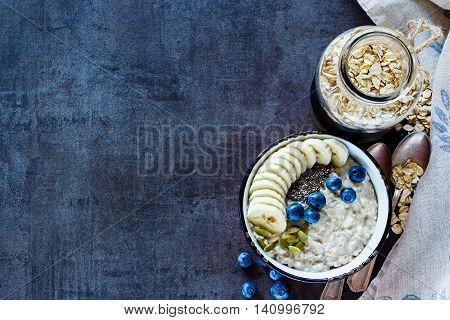 Home Made Oatmeal Porridge