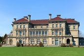 The Breakers is a one of the most fabulous building built in 1893 for Cornelius Vanderbilt and his family in Newport, Rhode Island, USA. This building is open to the public today. poster