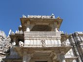 Holy Jain Temple in Ranakpur Rajasthan India poster