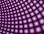 Part of a computer generated fractal. A contemporary purple background. poster