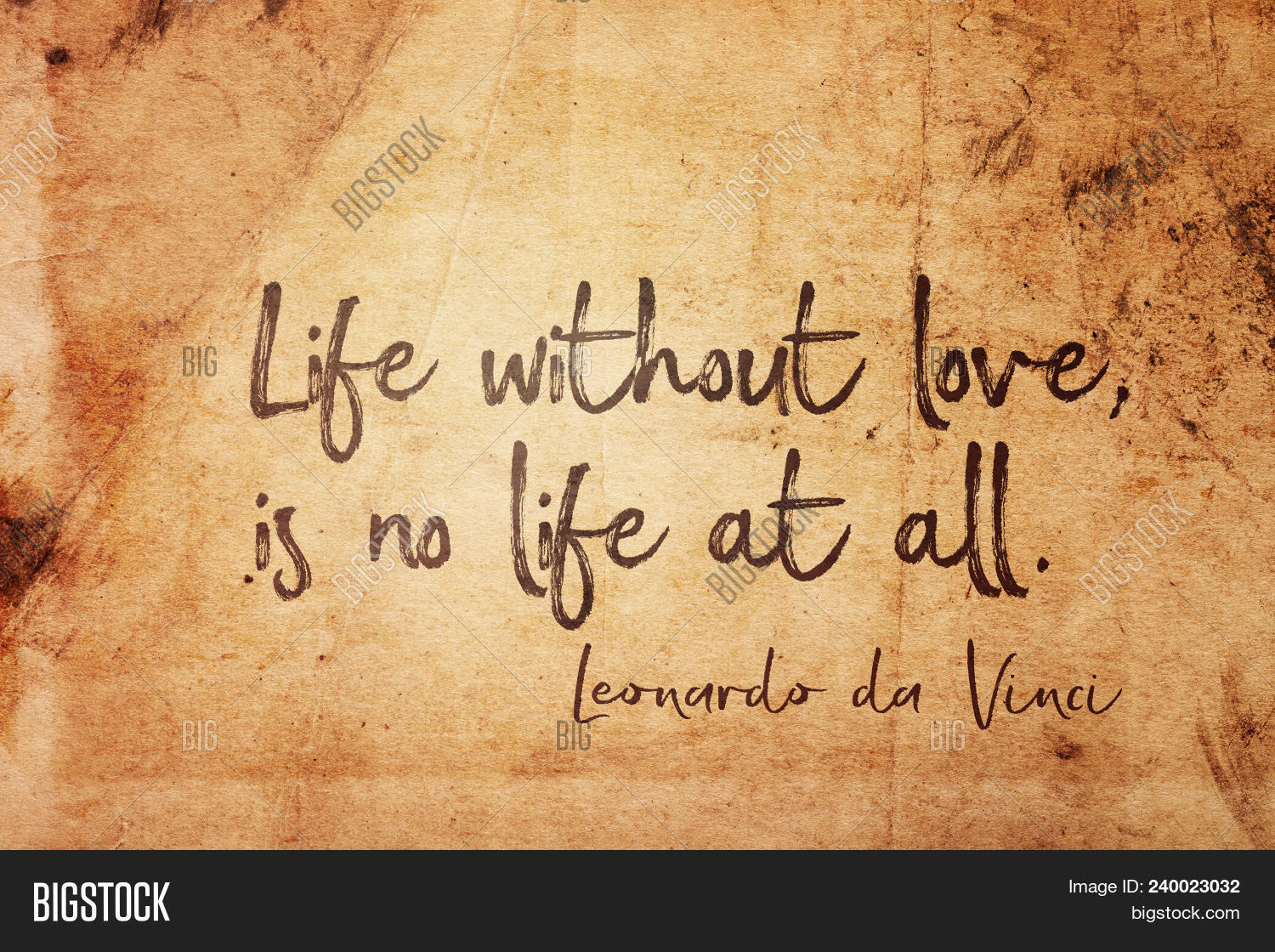 life without love is