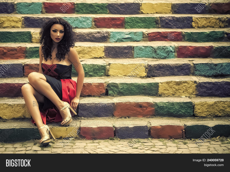 Petite black girl tube