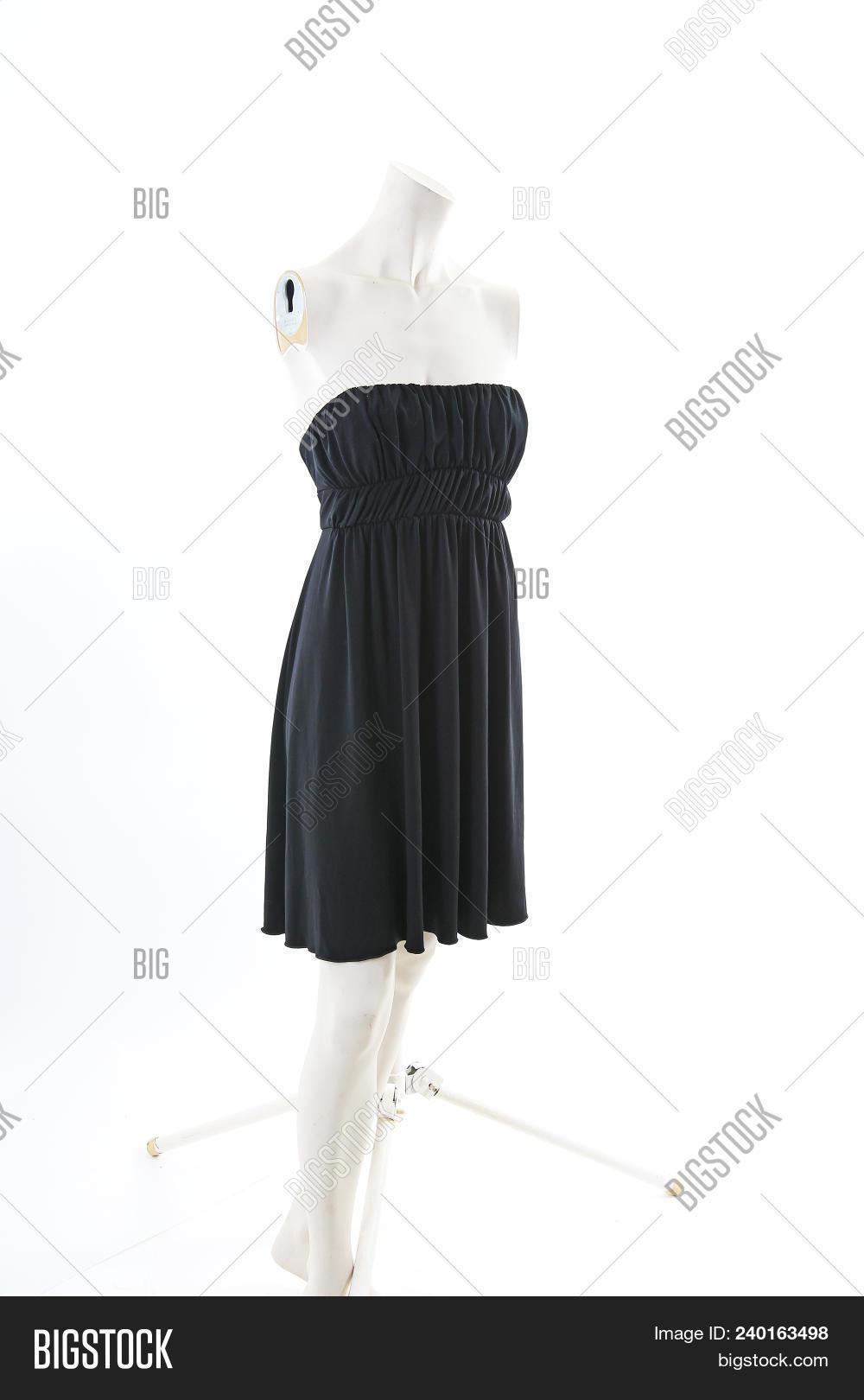 Black Mini Dress On Image Photo Free Trial Bigstock