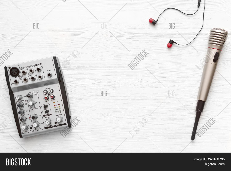 Audio Recording Studio Image & Photo (Free Trial) | Bigstock