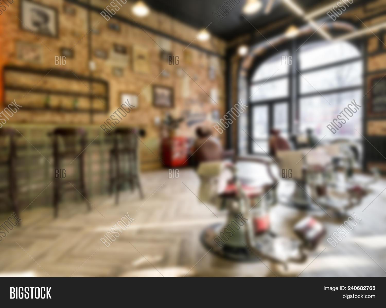 Barbershop. Blurred Image & Photo (Free Trial) | Bigstock