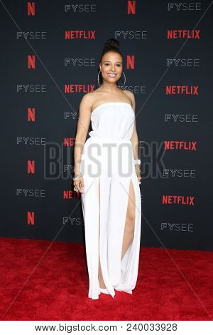 LOS ANGELES - MAY 6:  Antonique Smith at the Netflix FYSEE Kick-Off Event at Raleigh Studios on May 6, 2018 in Los Angeles, CA